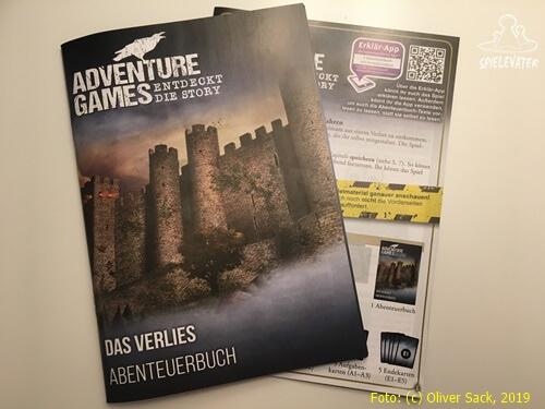 Adventure Games Abenteuerbuch