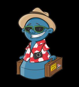 Ecky - das Maskottchen vom Spielewochenende
