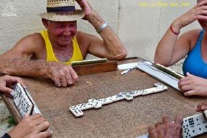 Domino Spieler