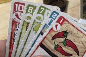 Kartenhand Spicy