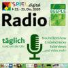 Logo Beeple MesseRadio spiel.digital